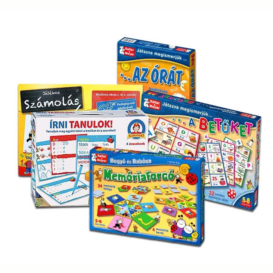 Készségfejlesztő, oktató játék