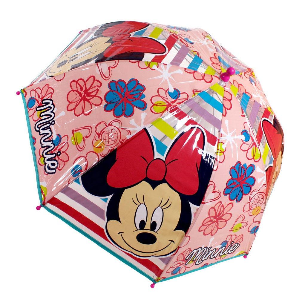 Minnie esernyő átlátszó - Gyerekajándék 756cf61edb
