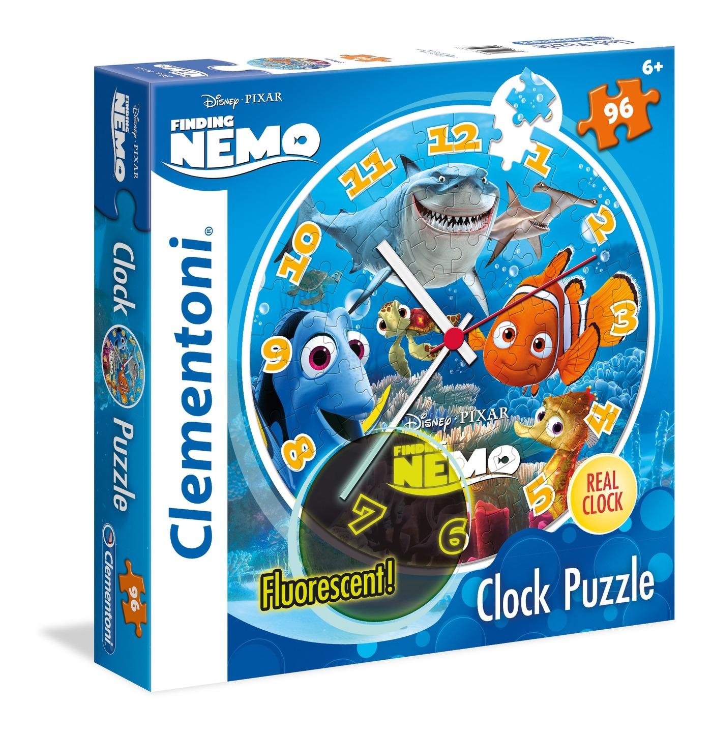 Némó nyomában puzzle és falióra - 96 darabos - Clementoni ... 0bc0f21843