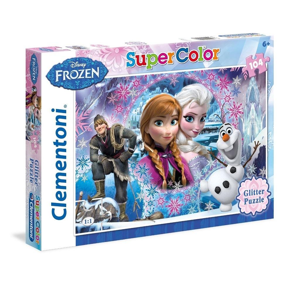 jégvarázs puzzle csillámos 27248