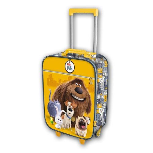 A kis kedvencek titkos élete Gurulós bőrönd - Gyerekajándék 03e575b719
