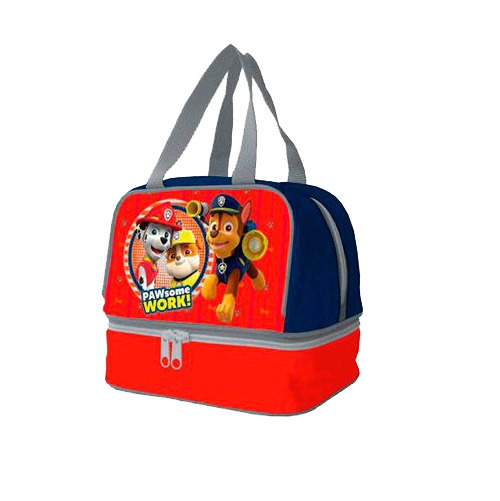 Mancs őrjárat uzsonnás táska - piros - Gyerekajándék c2e78ea51d