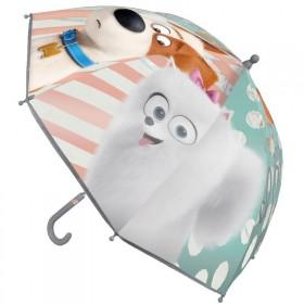 Kis kedvencek átlátszó esernyő lányoknak - Max és Gigi