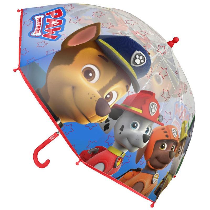 Mancs őrjárat átlátszó esernyő - fiús - Gyerekajándék 43f86bdcd6