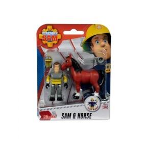 -sam-a-tuzolto-allatmento-figura-szett-Sam és ló