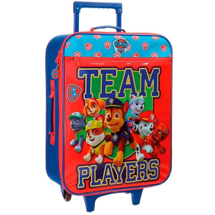 Mancs őrjárat vászon bőrönd 50 cm - Gyerekajándék f1b0ce39ff