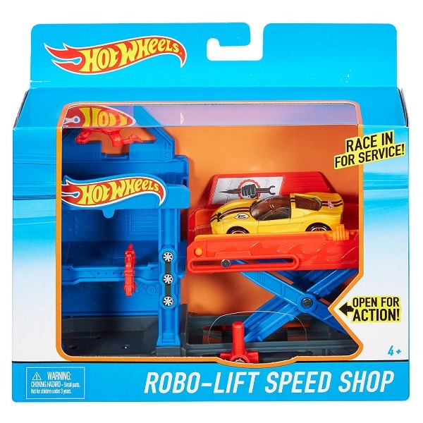 hot wheels robo lift speed shop sz tnyithat p lya. Black Bedroom Furniture Sets. Home Design Ideas