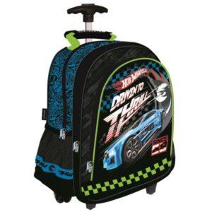 hot wheels gurulós hátizsák, iskolatáska