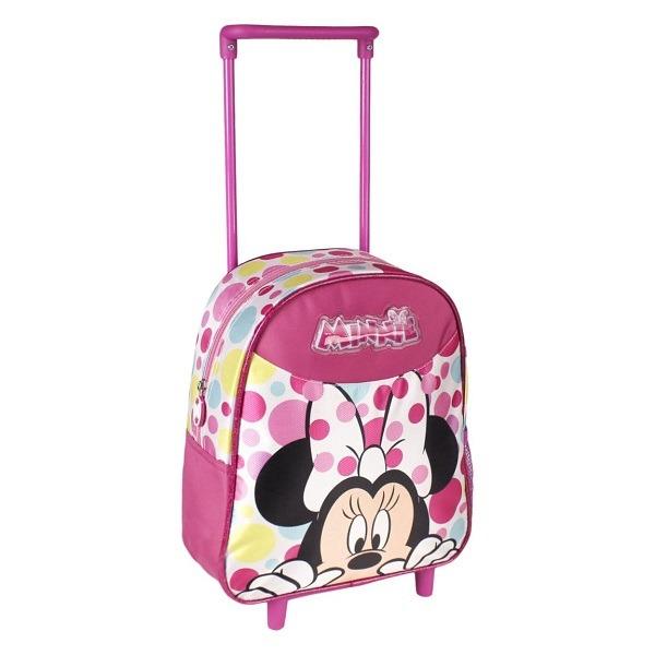 Minnie egér gurulós táska 28 cm - Pöttyös - Gyerekajándék d1413e98ba