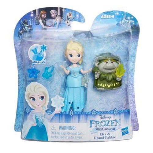 Disney Jégvarázs mini baba - Elsa és Nagy Pabbie - Gyerekajándék a38591461b