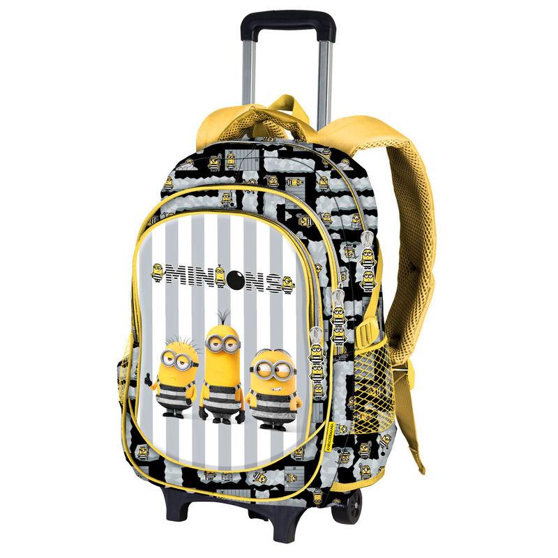 7802ad63a3e4 Minyonos gurulós hátizsák, iskolatáska - Gru 3 - Gyerekajándék