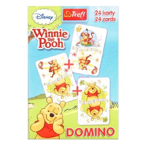Micimackó domino kártyajáték - Gyerekajándék 4770da2146