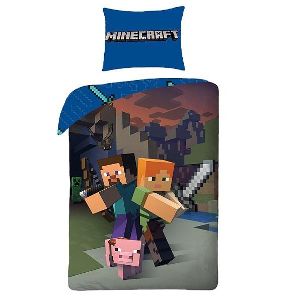 Minecraft ágyneműhuzat szett - Gyerekajándék 7d1f7a5b64