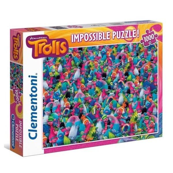 Trollok puzzle 1000 db-os - lehetetlen puzzle - Gyerekajándék 657ab0dcb8