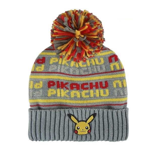 a8a9a55e7 Pokémon kötött sapka Pikachu