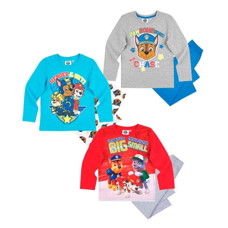 Mancs őrjárat pizsama 2 részes fiúknak - 3-féle - Gyerekajándék 086420c413