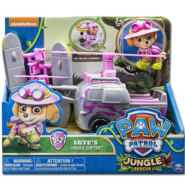 Mancs őrjárat Skye dzsungel járművel - Gyerekajándék 3d09170668