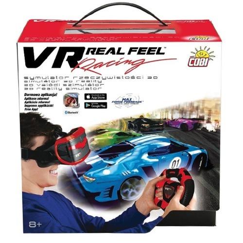 VR szemüveg 3D virtuális versenyautó szimulátor - Gyerekajándék addea62002