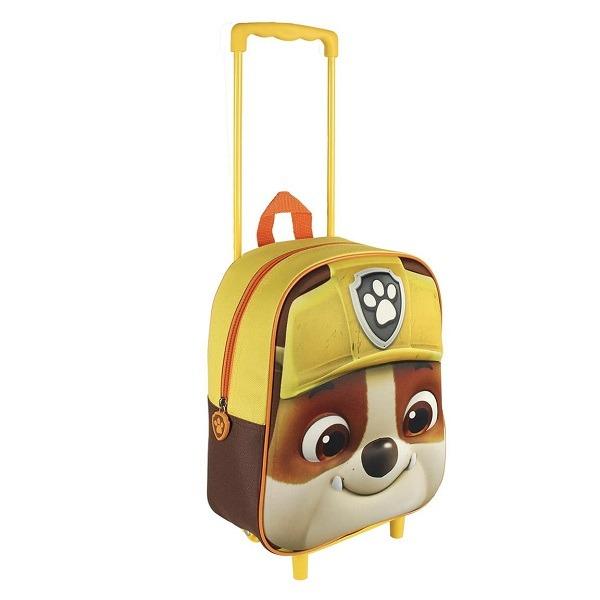 Mancs őrjárat gurulós táska 3D Rubble - Gyerekajándék c5a91c4f84