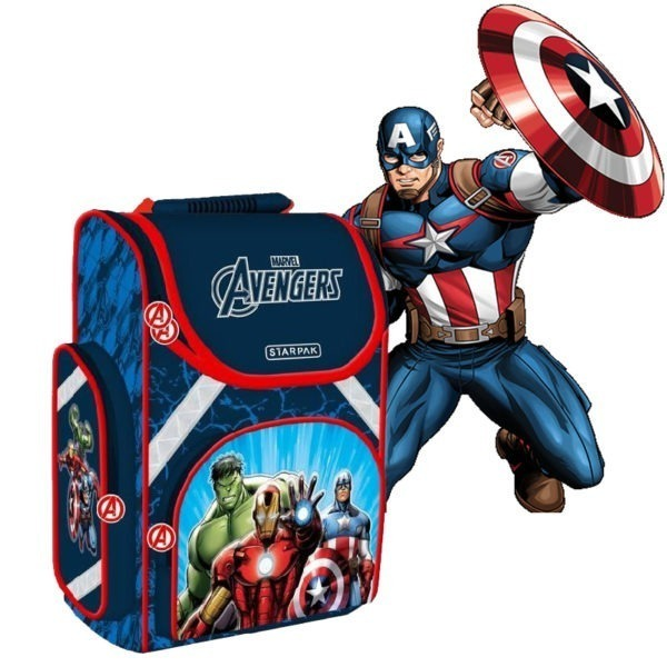 Avengers iskolatáska