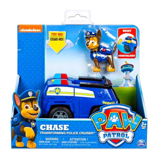 Mancs őrjárat Chase átalakuló rendőrautóval - Gyerekajándék 297c5e624b