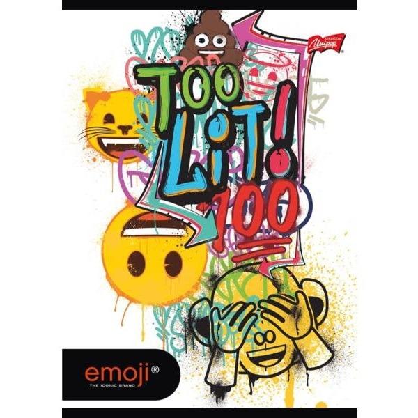 Emoji A5-ös kockás füzet - 60 lapos 79c9aafb76