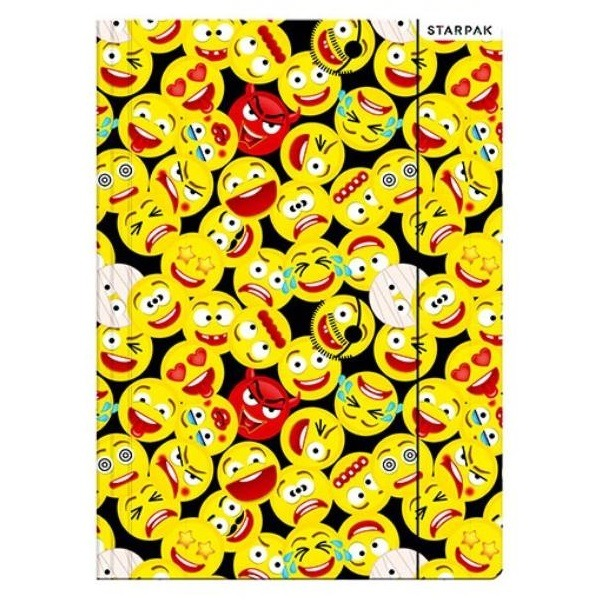 Emoji A4-es gumis mappa - emojik - Gyerekajándék 55f3e88061