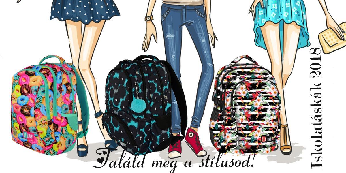 2ed52160e4c8 Az iskolai hátizsákokat nagyobbaknak ajánljuk, már 3. osztálytól  megtalálhatod az egyedi mintás táskádat.