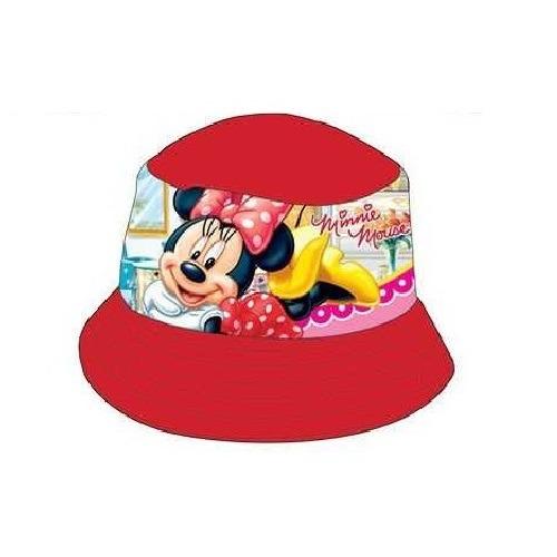 Minnie nyári kalap - piros - Gyerekajándék f3a92ea982