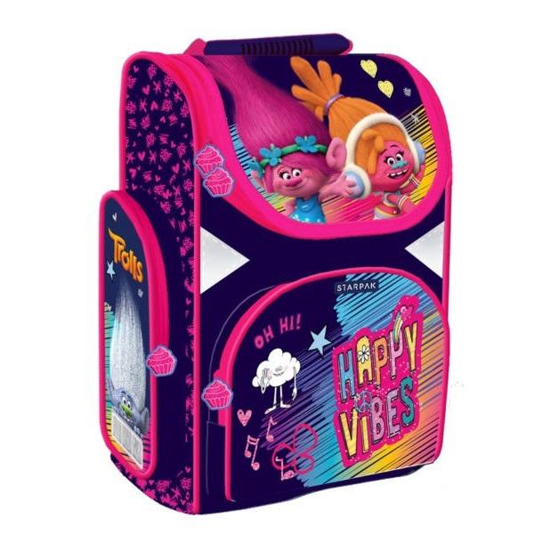 37222dcf6819 Trollok ergonomikus iskolatáska, hátizsák - Happy Vibes - Gyerekajándék