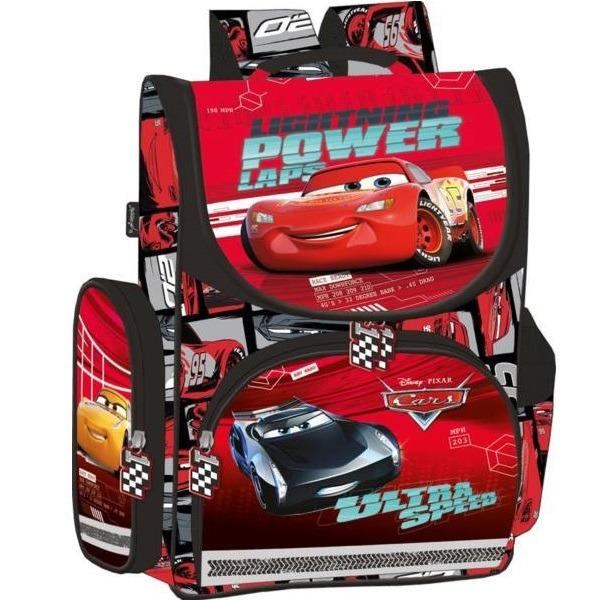 Verdák 3 ergonomikus iskolatáska - Lightning power laps - Gyerekajándék 4576142d67
