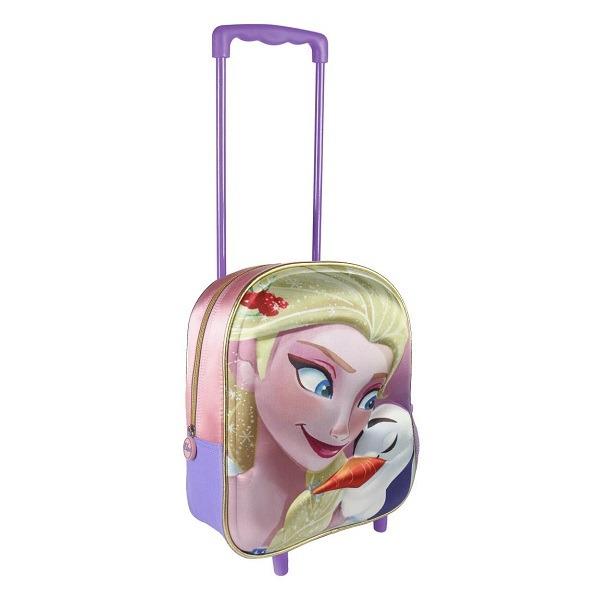 Jégvarázs gurulós táska 3D - Elsa - Gyerekajándék 9f636e2c66