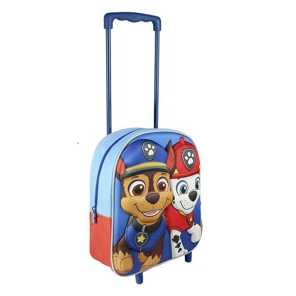 Mancs őrjárat gurulós táska 3D Marshall és Chase - Gyerekajándék c0c6138680