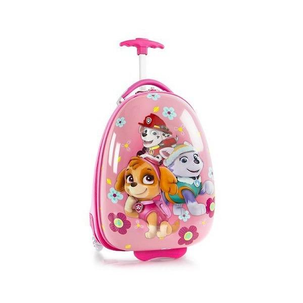 Mancs őrjárat ABS bőrönd - rózsaszín - Gyerekajándék 4d13621642