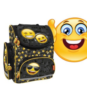 Emoji iskolatáska