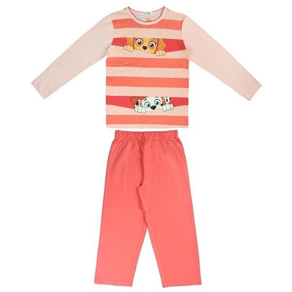 Mancs őrjárat lányos hosszú ujjú pizsama - Gyerekajándék 35ff55a50f