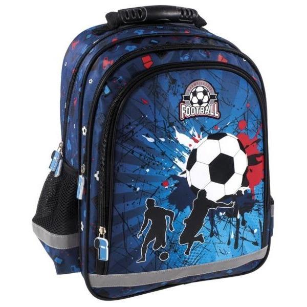 de7cc8ff37b9 Football 3 rekeszes anatómiai iskolatáska, hátizsák - Gyerekajándék