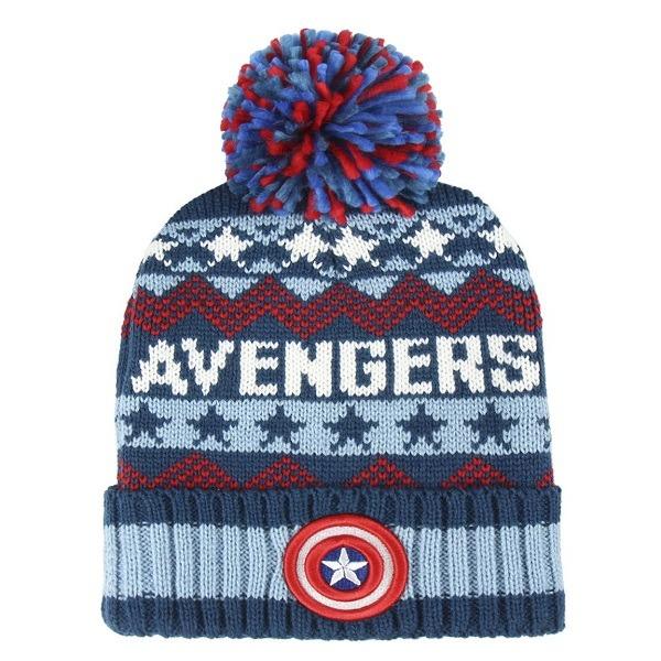 689d58385 Avengers kötött sapka