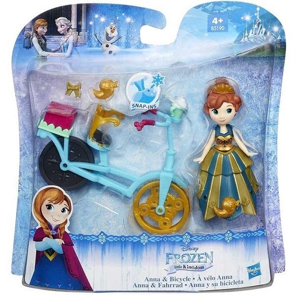 Disney Jégvarázs mini baba - Anna biciklivel - Gyerekajándék 3e1b78208d