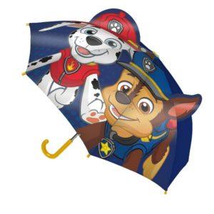Mancs őrjárat esernyő Chase és Marshall kiálló fülekkel 30b640449c