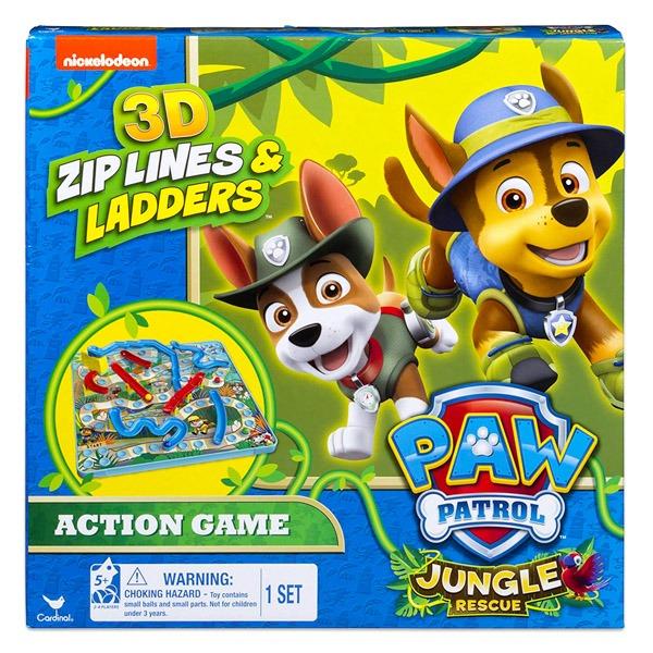 Mancs őrjárat Létrák és csúszdák 3D társasjáték - Jungle Rescue -  Gyerekajándék 5fa08d1f55