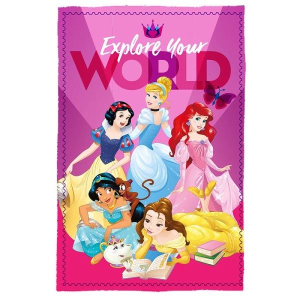Disney Hercegnők polár takaró - Gyerekajándék 9a3677bec8