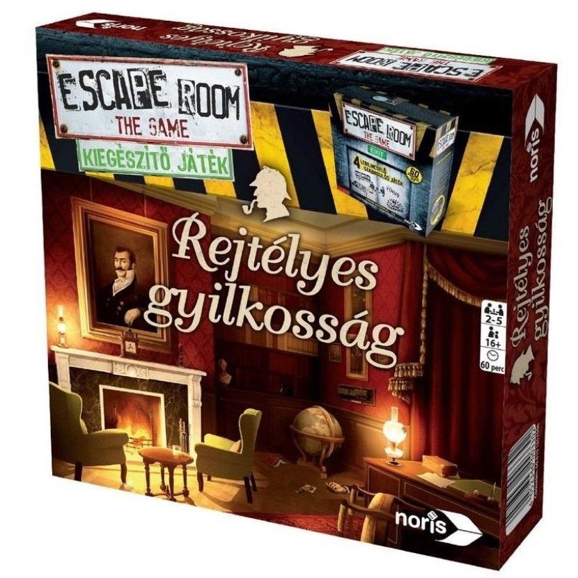 Escape Room - Szabaduló szoba Rejtélyes gyilkosságok kiegészítő játék -  Gyerekajándék f2c881cf10