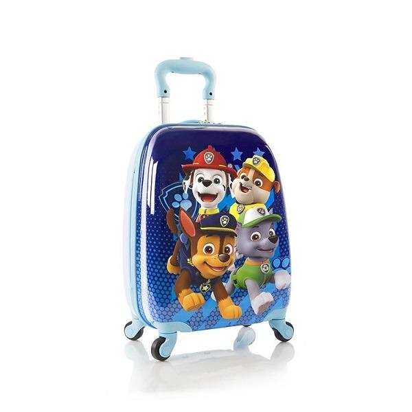 4 kerekű ABS bőrönd - Mancs őrjárat A csapat - Gyerekajándék b7a11c820f
