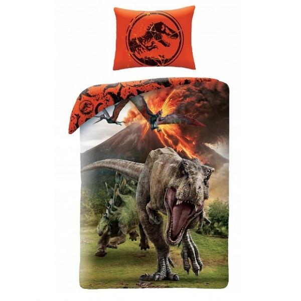 6ebff2cb0aa8 Jurassic World ágyneműhuzat szett - T-Rex - Gyerekajándék