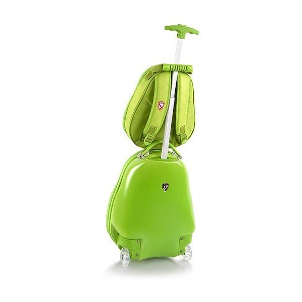 ABS gyerekbőrönd és hátizsák - Teknős - Gyerekajándék 9d57606d03