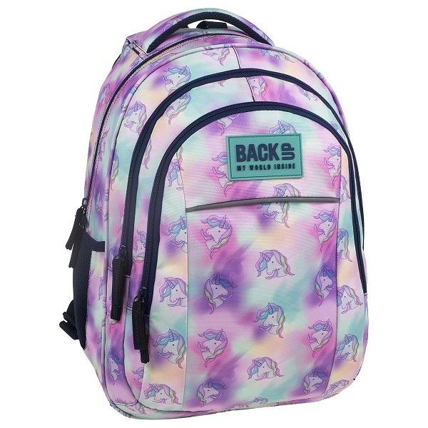 a1efd5f9944c BackUp Unikornis iskolatáska, hátizsák - ergonomikus - Gyerekajándék