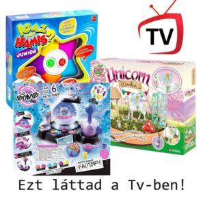 TV reklámos játékok