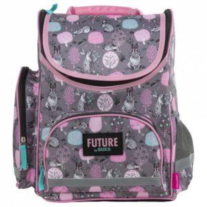 073901a2ac9c Future by BackUp nyuszis ergonomikus iskolatáska, hátizsák