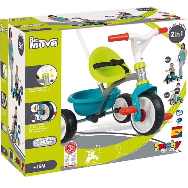dbeaff8078a7 Smoby tricikli 2in1 - Be Move - Gyerekajándék